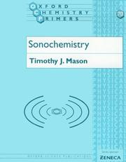 Cover of: Sonochemistry