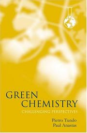 Cover of: Green chemistry by