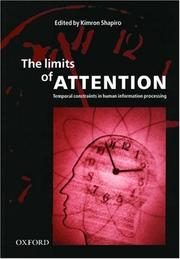 Cover of: The Limits of Attention | Kimron Shapiro