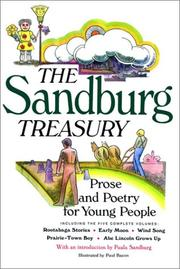 Cover of: The Sandburg Treasury: prose and poetry for young people.