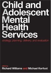 Cover of: Child and Adolescent Mental Health Services |