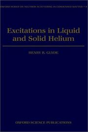 Cover of: Excitations in liquid and solid helium