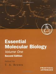 Cover of: Essential Molecular Biology