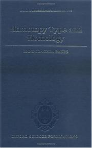 Cover of: Homotopy type and homology