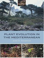 Plant Evolution in the Mediterranean by John D. Thompson