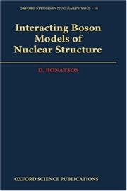 Interacting boson models of nuclear structure by D. Bonatsos