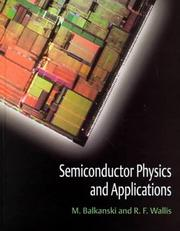 Cover of: Semiconductor physics and applications |
