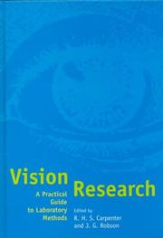 Cover of: Vision Research |