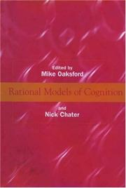 Cover of: Rational models of cognition |