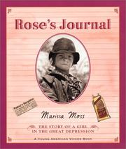 Cover of: Rose's Journal: The Story of a Girl in the Great Depression