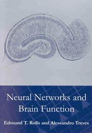 Cover of: Neural networks and brain function