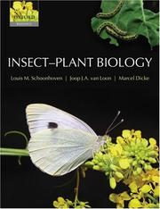 Insect-plant biology by L. M. Schoonhoven