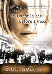 Cover of: If I should die before I wake