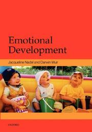 Cover of: Emotional Development |