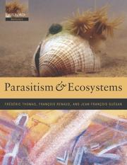 Cover of: Parasitism and ecosystems |