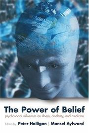 Cover of: The Power of Belief |