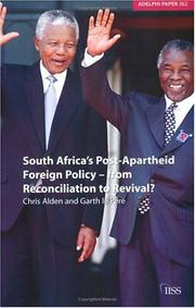 Cover of: South Africa's Post-Apartheid Foreign Policy -- From Reconciliation to Revival? (Adelphi Papers)
