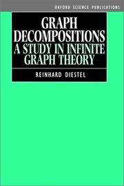 Cover of: Graph decompositions | Reinhard Diestel