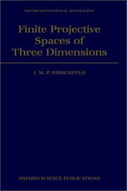 Finite Projective Spaces of Three Dimensions