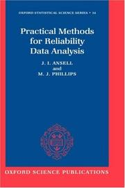 Cover of: Practical methods for reliability data analysis | Jake Ansell