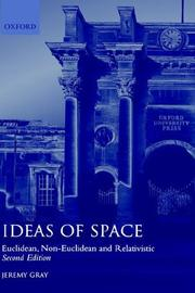 Cover of: Ideas of space