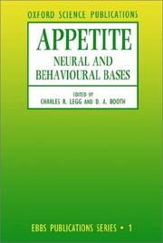Cover of: Appetite