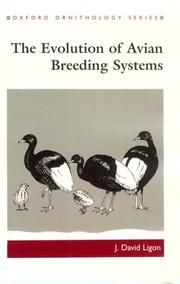Cover of: The evolution of avian breeding systems