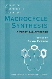 Cover of: Macrocycle Synthesis | David Parker