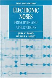 Cover of: Electronic noses