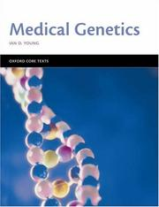 Cover of: Medical Genetics (Oxford Core Texts)
