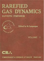 Cover of: Rarefied gas dynamics | International Symposium on Rarefied Gas Dynamics (19th 1994 University of Oxford)