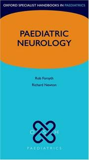 Cover of: Pediatric Neurology (Oxford Specialist Handbooks in Paediatrics) | Robert Forsyth