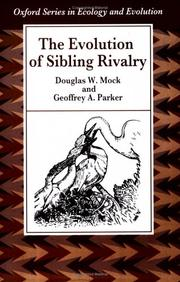 Cover of: The evolution of sibling rivalry