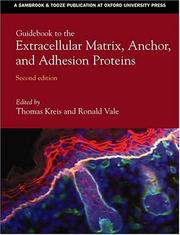 Cover of: Guidebook to the extracellular matrix, anchor, and adhesion proteins