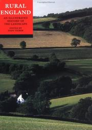 Cover of: Rural England