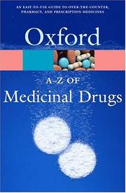 Cover of: A-Z of medicinal drugs | Jan Hawthorn