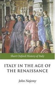 Cover of: Italy in the Age of the Renaissance | John M. Najemy