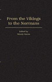 Cover of: From the Vikings to the Normans 800-1100 (Short Oxford History of the British | Wendy Davies