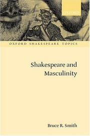 Cover of: Shakespeare and masculinity