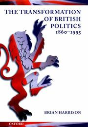 transformation of British politics, 1860-1995