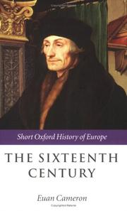 Cover of: The Sixteenth Century (Short Oxford History of Europe) | Euan Cameron
