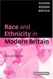 Cover of: Race and ethnicity in modern Britain