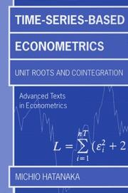 Cover of: Time-series-based econometrics