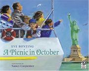 Cover of: A Picnic in October | Eve Bunting