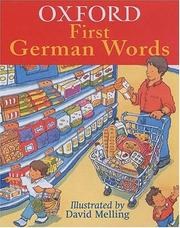 Cover of: Oxford First German Words