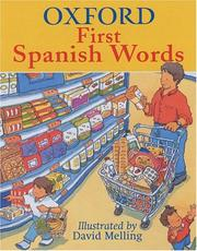Cover of: Oxford First Spanish Words