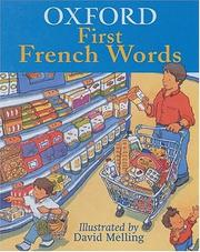 Cover of: Oxford First French Words