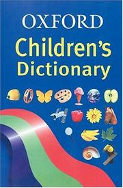 Cover of: Oxford Children's Dictionary