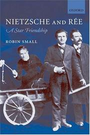 Cover of: Nietzsche and Ree | Robin Small