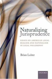 Cover of: Naturalizing Jurisprudence | Brian Leiter